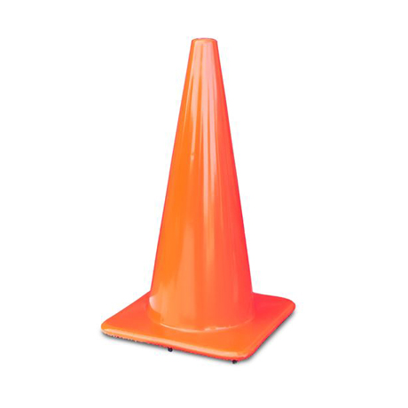 cones/colored safety cones 2850-10