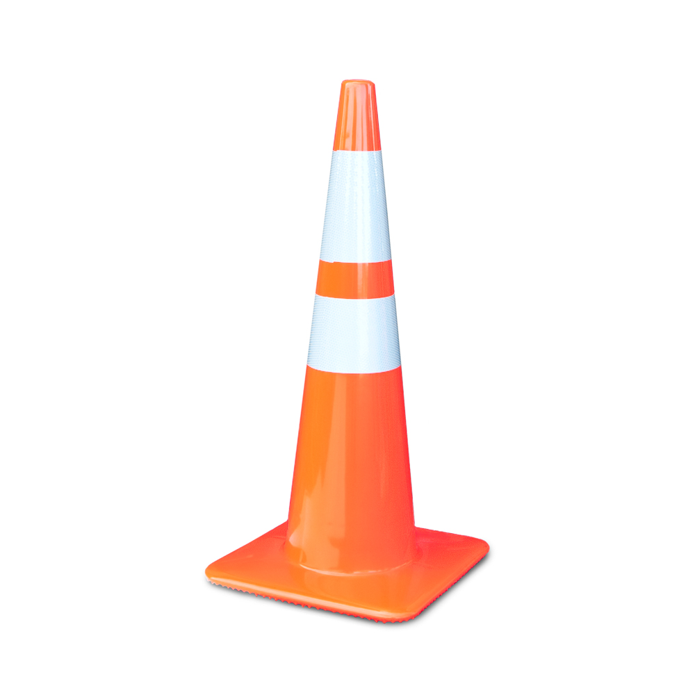 2825-5-MM = 28 Inch Trim Line Cone With 6 And 4 Inch 3M Collar Lakeside Plastics