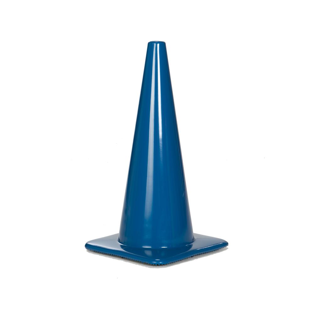 2850-7 Blu = 28 Inch Blue Cone Lakeside Plastics